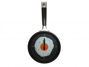 Buy Frying Pan Wall Clock Online