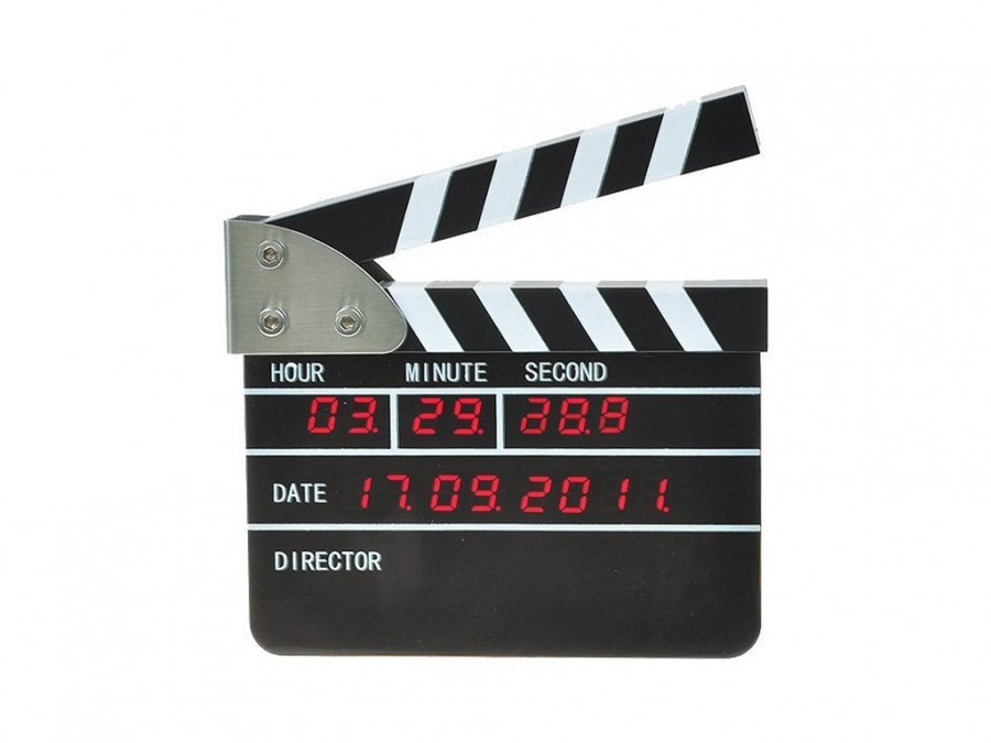 Buy Movie Director Alarm Table Clock Online