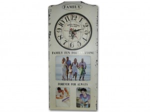 Buy Family Album Wall Clock White Online