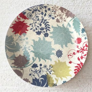 Buy FLORAL CERAMIC WALL PLATE  Online