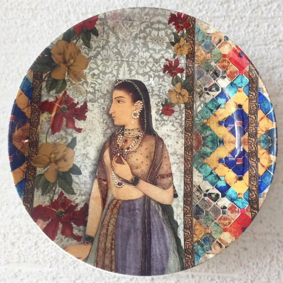 Buy MUGHAL PRINCESS WALL PLATE Online