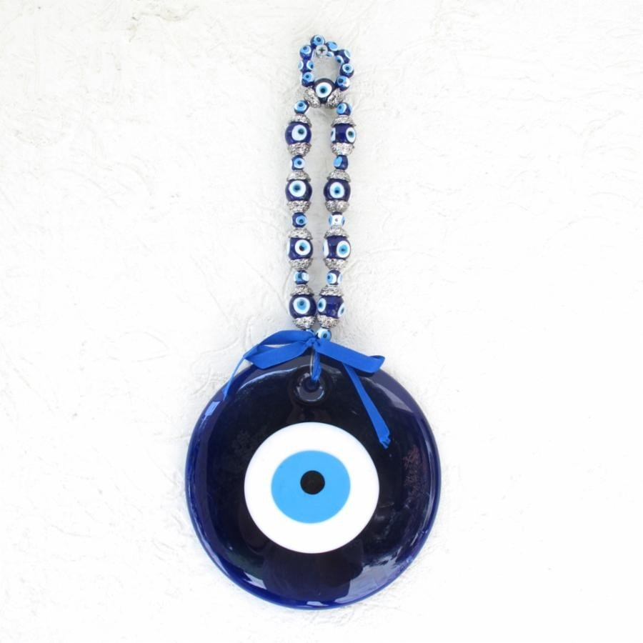 Buy EVIL EYE HANGING MEDIUM SILVER Online