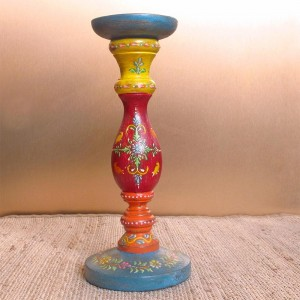 Buy HAND-PAINTED CANDLE STAND S Online