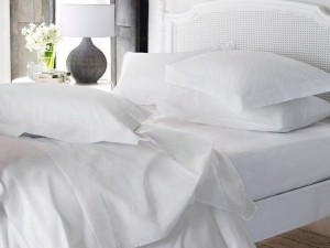 Buy Love For White Bed Sheet  200TC Premium  SingleTwin Online