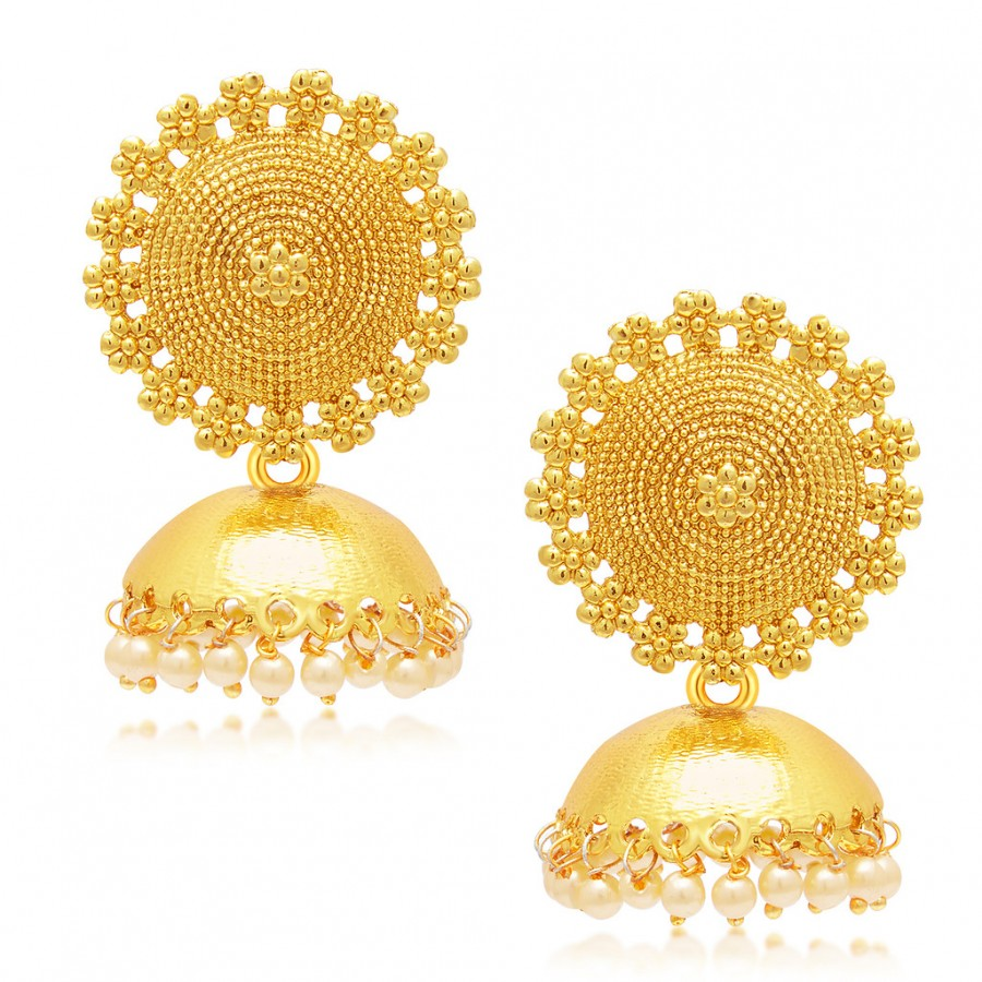 Sukkhi Stylish Gold Plated Earring For Women Online