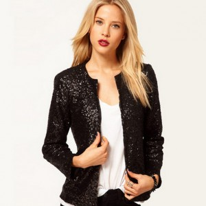 Buy MUST BE SEQUINED IN BLACK Online