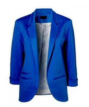 Buy THE SOPHISTICATE JACKET IN BLUE Online