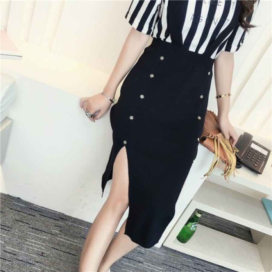 Buy Overall Skirt in Black Online