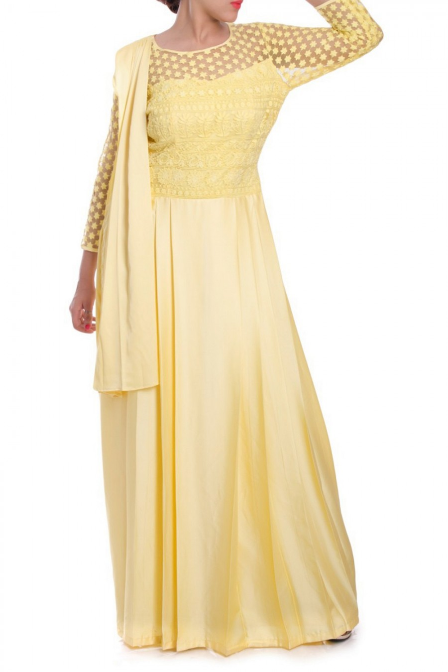 Buy Exclusive Drape Saree Gown at best price | 534391