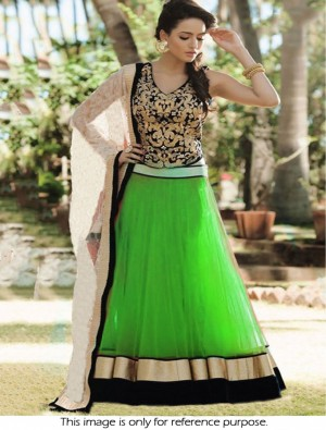 Buy Thankar Green Latest Arrival Designer Lehenga Choli  Online
