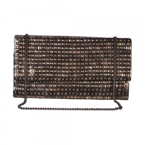 Buy DIWAAH!! BLACK BEADED BEAUTIFUL SLING BAG  Online