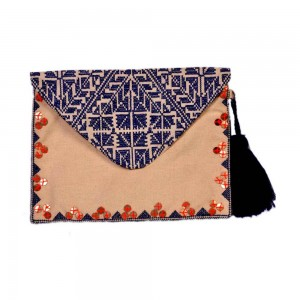Buy DIWAAH!! EMBROIDERY FOLD OVER BEAUTIFUL CLUTCH.  Online