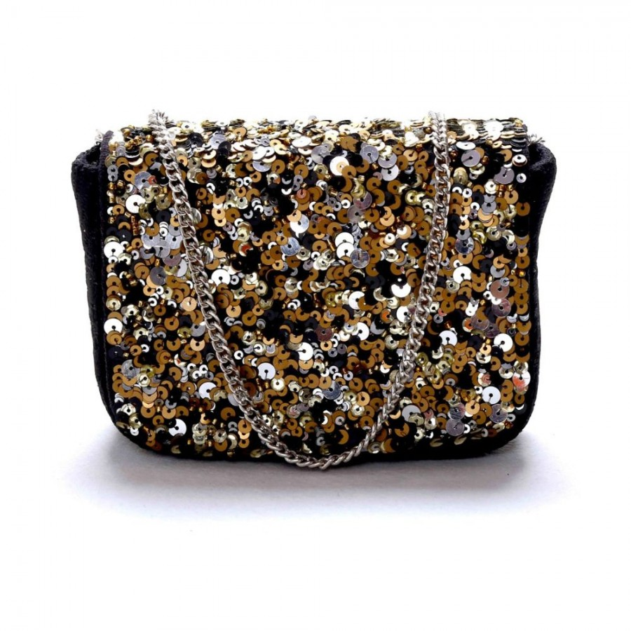 Buy DIWAAH!! HAND CRAFTED EMBROIDERD BOX CLUTCH  Online