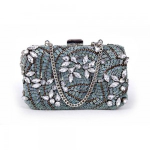 Buy DIWAAH!! HAND CRAFTED MULTI EMBROIDERED CLUTCH  Online