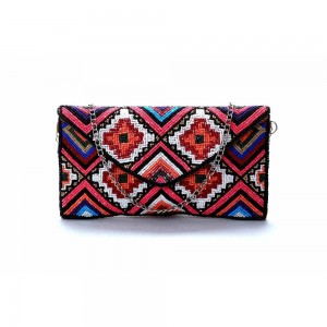 Buy DIWAAH !! MULTI EMBROIDERED HIGH EMBELLISHED CLUTCH  Online