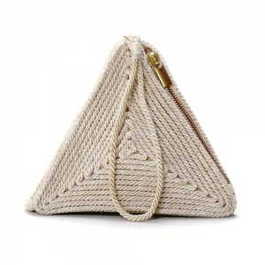Buy DIWAAH!! HAND CRAFTED WRISTLET TRIANGLE CLUTCH  Online