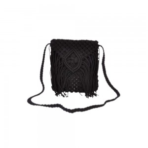 Buy DIWAAH!!BALLETIC BLACK SHOULDER BAG.  Online