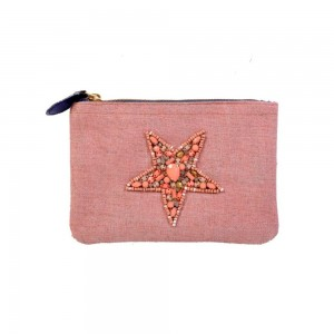 Buy DIWAAH!! SMALL EMBROIDERED HAND COIN POUCH.  Online