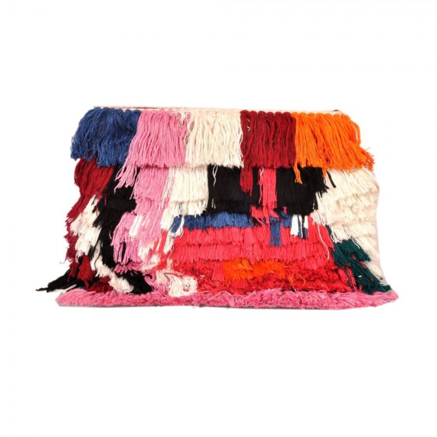 Buy DIWAAH!! HAND CRAFTED MULTI FRINGERS HAND HELD POUCH  Online