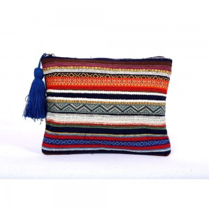 Buy DIWAAH!!HAND CRAFTED MULTI EMBROIDERED RUG POUCH  Online