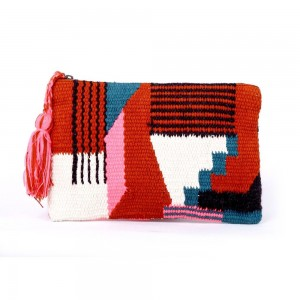 Buy DIWAAH!!HAND CRAFTED MULTI STYLISH LADY ZIP TOP POUCH  Online