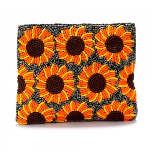 Buy DIWAAH!! HAND CRAFTED MULTI EMBROIDERED POUCH  Online