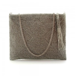 Buy DIWAAH!! HAND CRAFTED MULTI EMBROIDERED SLING BAG  Online