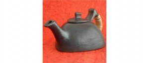 Buy  Teatime Black Pottery Kettle Online