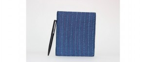 Buy  Egyptian Blue Handmade Fabric Diary Online
