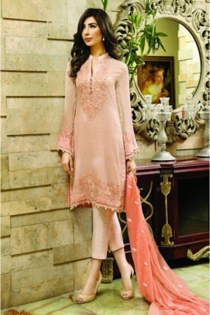 Buy Poly Georgette Party Wear Pant Style In Pink Colour Online