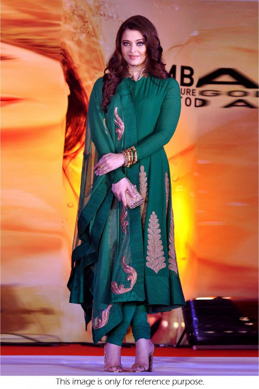 Buy Bollywood Style Aishwarya Rai Georgette Suit In Green Colour NC232  Online