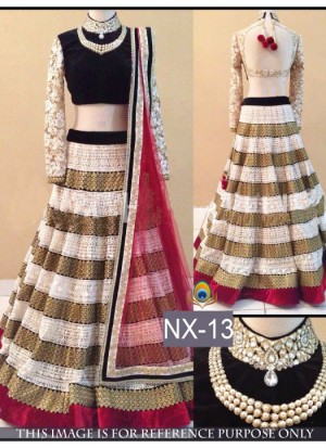 Buy Rozdeal Different Look Of Layered Lehenga Choli Online