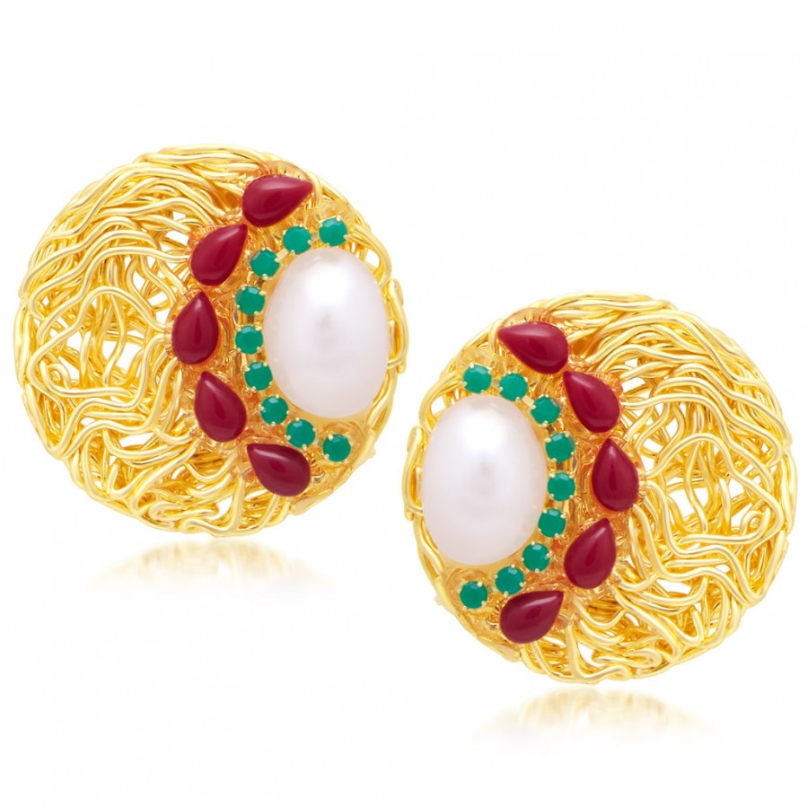 Buy Sukkhi Traditionally Gold Plated Earring For Women Online