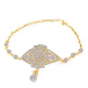 Buy Sukkhi Fascinating Gold Plated AD Bajuband For Women Online