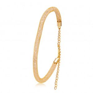 Buy Sukkhi Divine Gold Plated AD Bracelet For Women Online