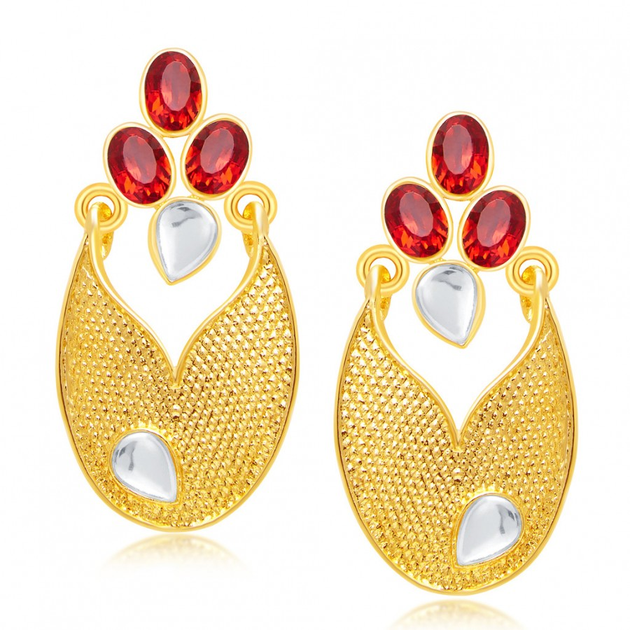 Buy Sukkhi Incredible Gold Plated AD Earring For Women Online