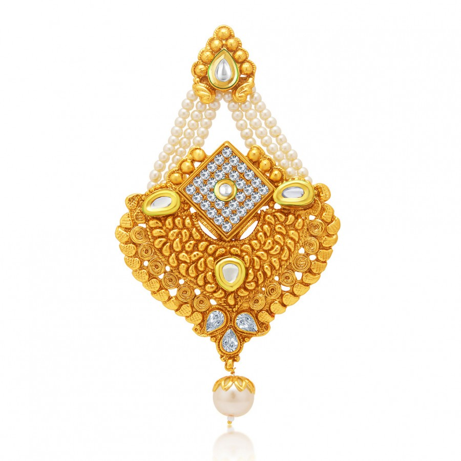 Buy Sukkhi Graceful Gold Plated AD Passa For Women Online