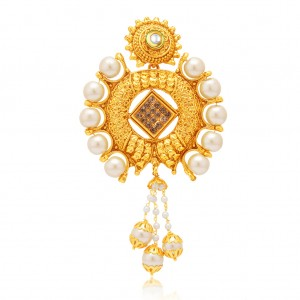 Buy Sukkhi Pleasing Gold Plated AD Passa For Women Online