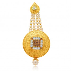 Buy Sukkhi Delightful Gold Plated AD Passa For Women Online