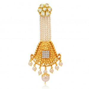 Buy Sukkhi Artistically Gold Plated AD Passa For Women Online