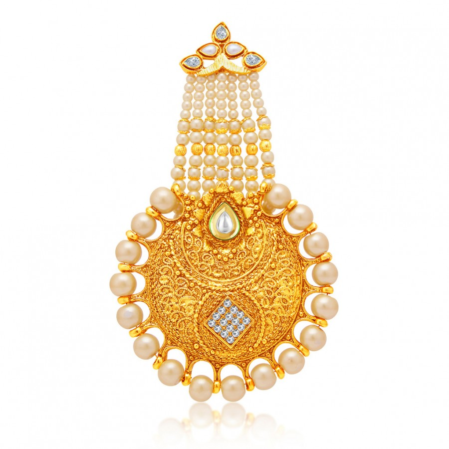 Buy Sukkhi Fascinating Gold Plated AD Passa For Women Online