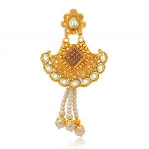 Buy Sukkhi Modern Gold Plated AD Passa For Women Online