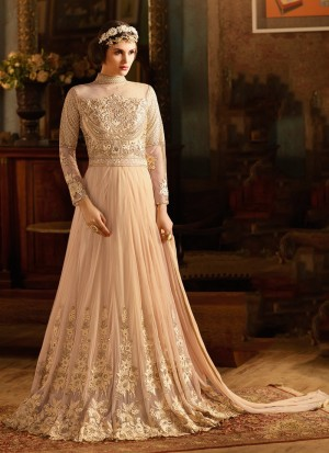 Buy PARTY WEAR ANARKALI IN NET Online
