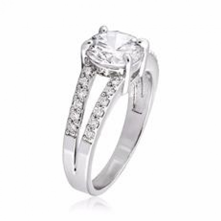 Buy Studded 2 String Ring Slv with FREE Charm Online
