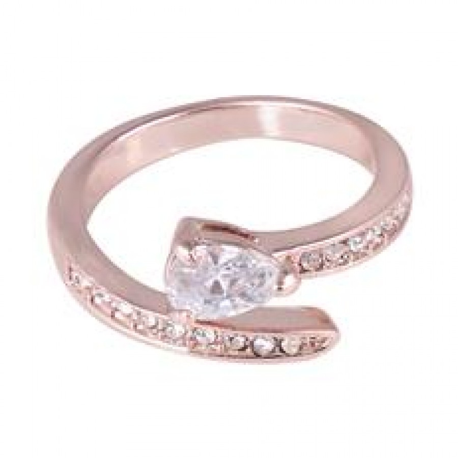 Buy Golden Leaf Ring with FREE Charm Online