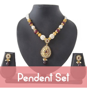 Pendent Set Jewellery, Artificial Jewellery Online